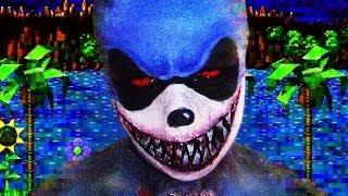 Sonic.exe Creepy Pasta Makeup Tutorial!