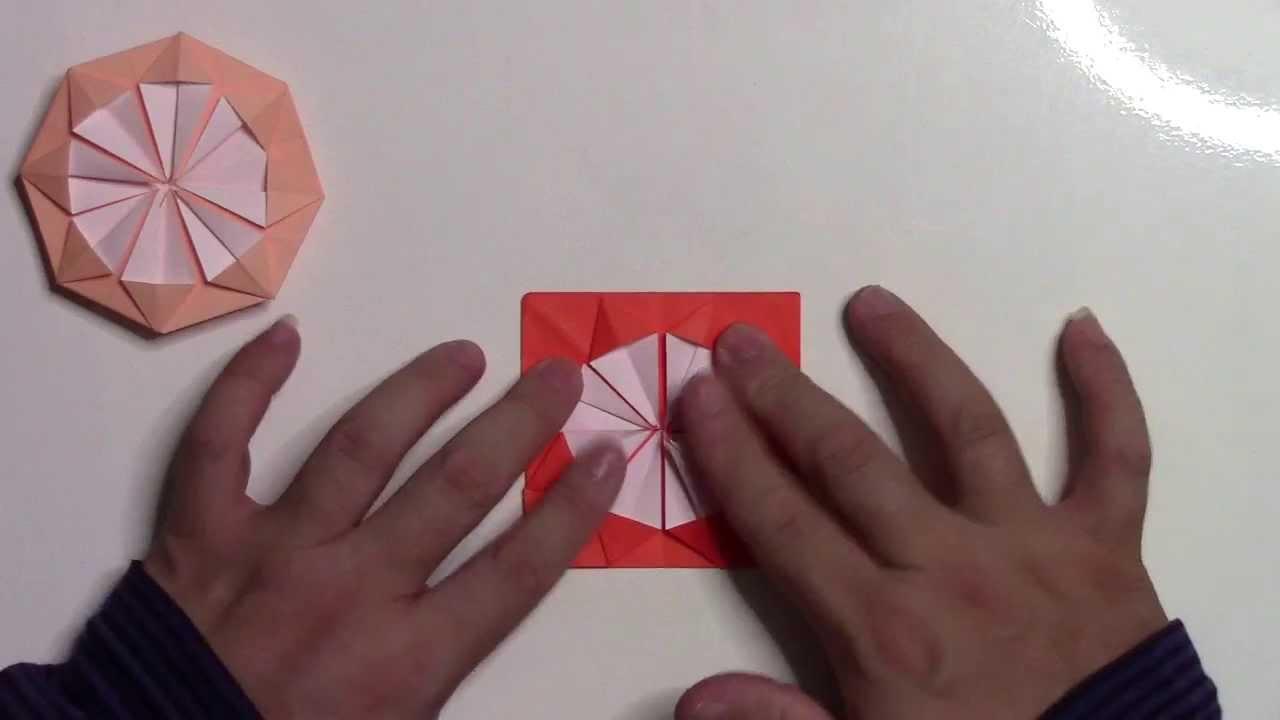 すべての折り紙 折り紙菊の折り方 : 折り紙 折り方】簡単な ...