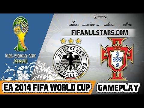 EA 2014 FIFA World Cup Germany Vs Portugal - FIFAALLSTARS.COM