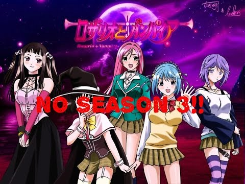 Anime talk reasons why there won t be a rosario vampire season 3