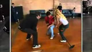 Ashley Tisdale And Zac Efron HSM Rehearsal