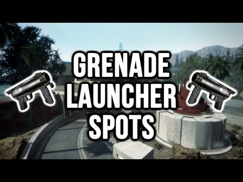 Black Ops 2: Raid Grenade Launcher / Noob Tube Spots (Domination & Search and Destroy)