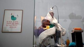 فنان فرنسي يطمح إلى التفريخ داخل متحف في باريس   |   قنوات أخرى