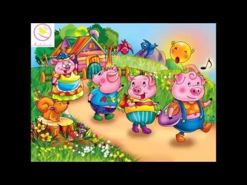 [Kể chuyện cho Bé] Ba chú Lợn Con (giúp Bé thông minh sớm)
