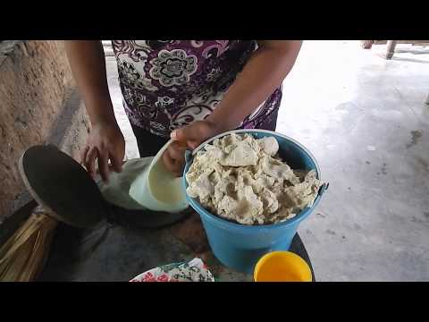 In Guerrero Mexico Handmade Tortillas Is A Womans Daily Task