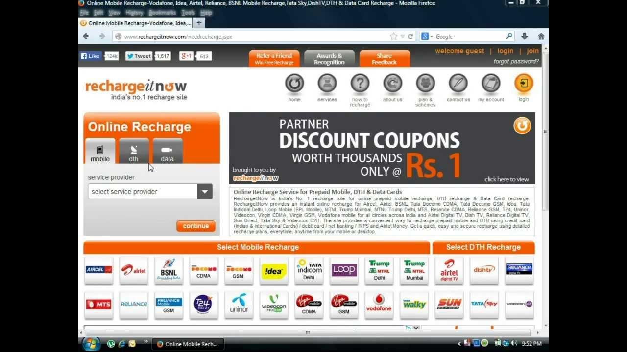wwwz.rechargeitnow.com - Information about any Web Company