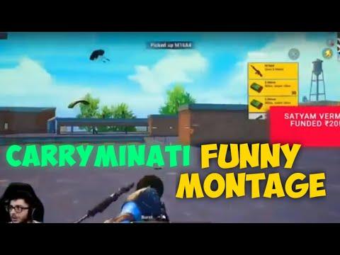 Carryminati Live | Funny Montage
