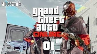Zagrajmy W GTA Online #1 Początki Kariery Gangstera