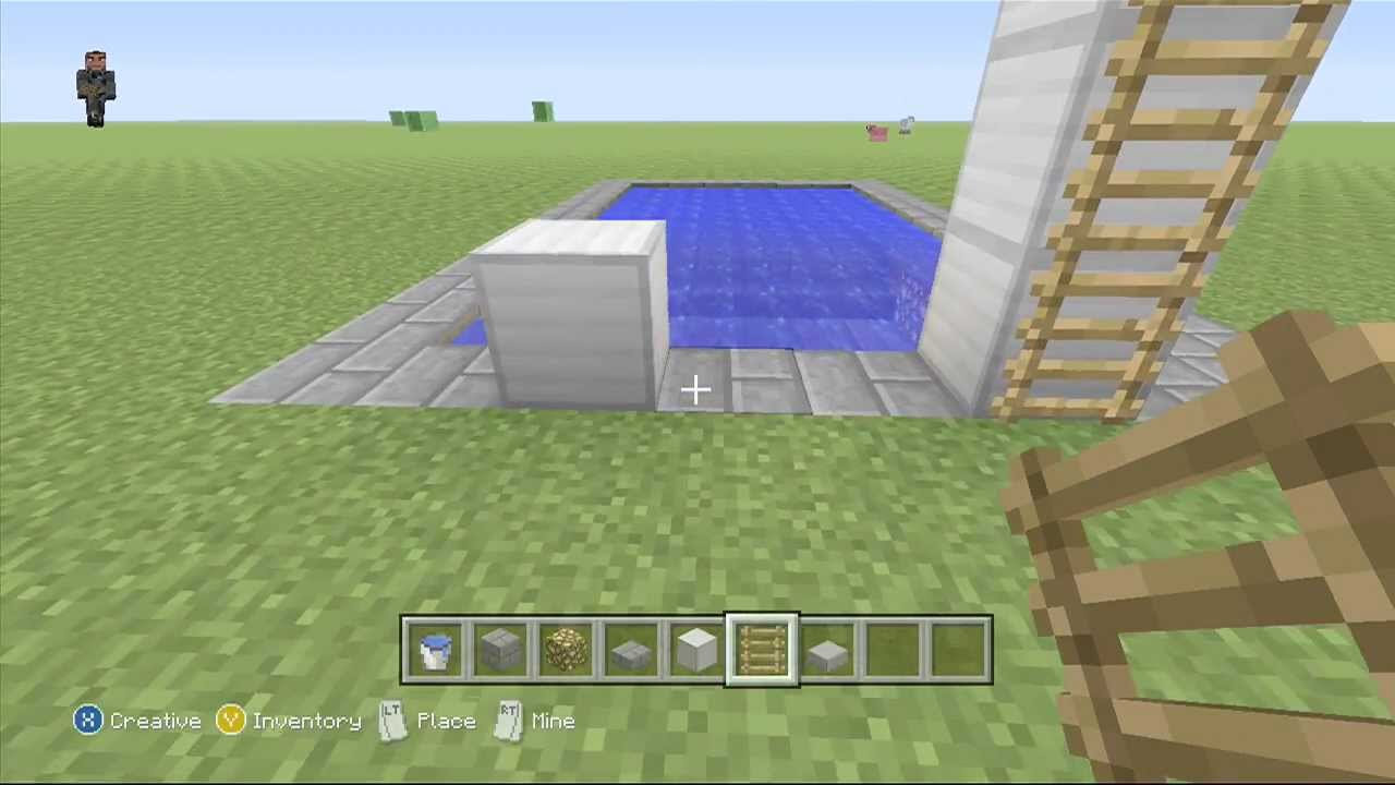 Swimming Pool Diving Boards Tutorial Minecraft Xbox