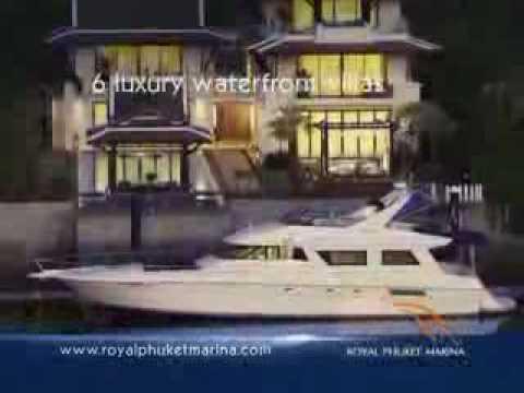 Royal Phuket Marina - Royal Waterfront Villas with Private Yacht Berth