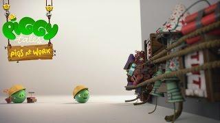 Piggy Tales - Prasatá v práci - demolície