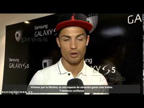 Cristiano Ronaldo - World Exclusive Interview on Samsung Galaxy S5 - Champions League Final 2014 HD