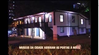 Museus de BH abrem as portas para passeio noturno