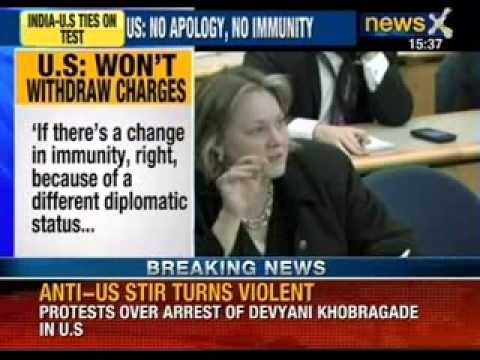 NewsX: Devyani case- outlests of McDonalds & Dominos targeted in Mumbai by RPI workers