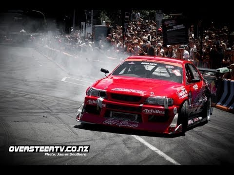 Профи. Дрифт Toyota Chaser на Red Bull Drift Shifters