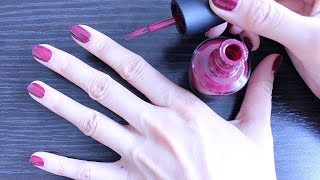 HOW TO: Paint Your Nails Perfectly!