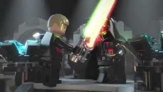Lego Star Wars závěrečný boj