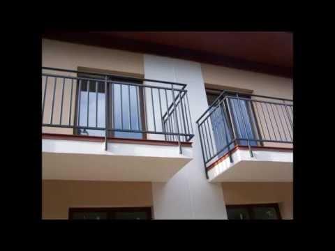 7.Barierki balustrady poręcze  balkonowe o nowoczesnym wzorze nawiązującym do tradycji