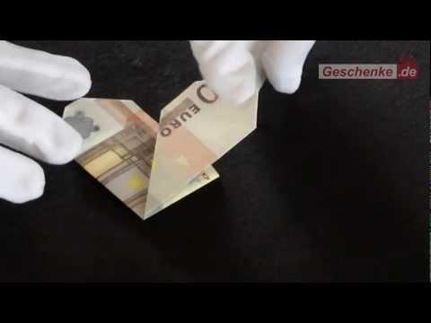 pin geldschein falten herz origami geld zum diy on pinterest. Black Bedroom Furniture Sets. Home Design Ideas