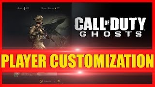 COD Ghosts How To Customize Characters & Change