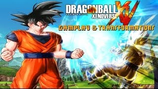 Dragon Ball Xenoverse Japan Expo 2014 Gameplay