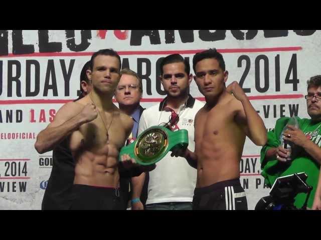 Dinamita Alvarez vs. Yeyo Thompson Weigh ins