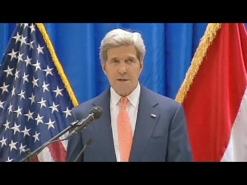 Iraq crisis: Kerry urges US support but new government must be formed