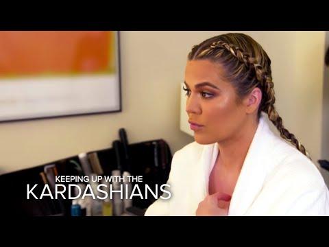 KUWTK   Kim, Khloe and Kylie React to Rob Kardashian's Engagement   E!