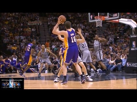 Pau Gasol Lakers Offense Highlights 2012/2013