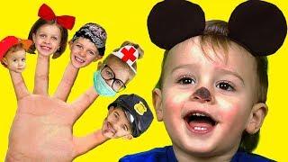 Canción de La Familia Dedo   Canciones InfantilesEn Español Are you sleeping  Nursery Rhyme Song