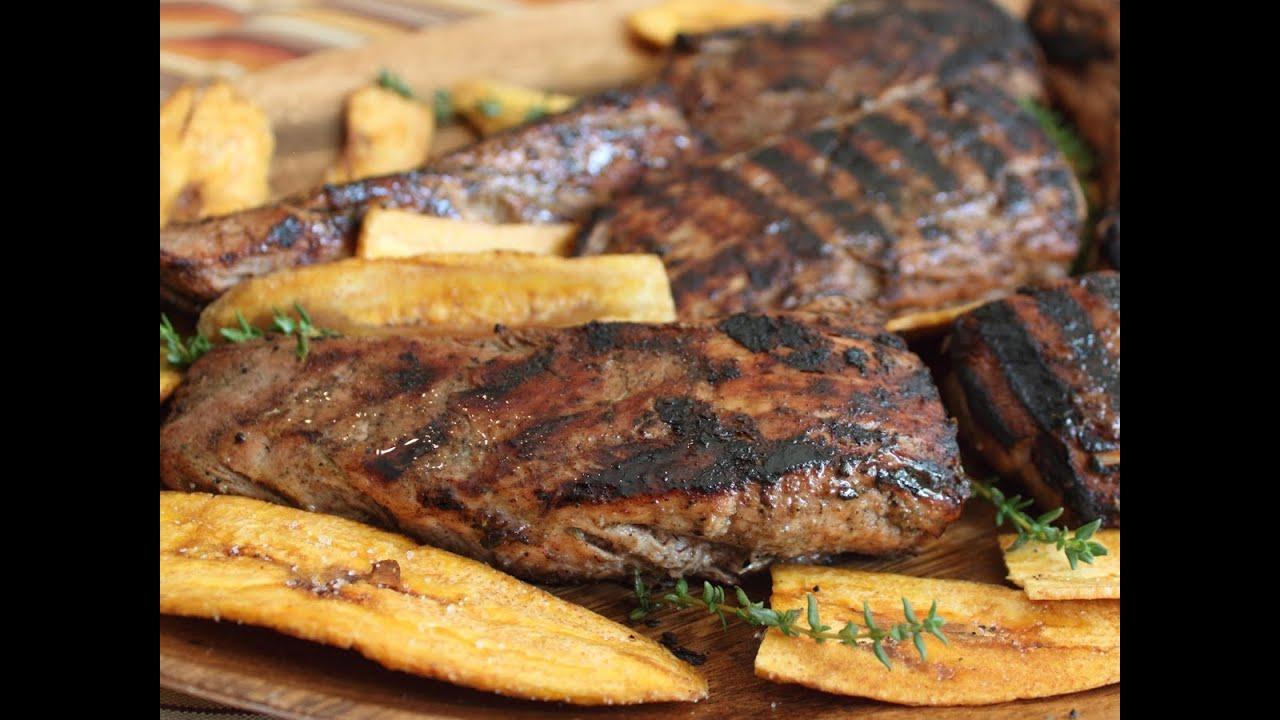 Grilled Jerk Pork Tenderloin - Jerk Spice Grilled Pork Recipe ...