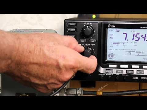 IC7410 - Review of Tx power meter and SWR meter