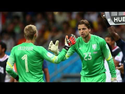 Tim Krul: Der Elfmeter-Held auf Abruf   Niederlande - Costa Rica 4:3 n.E.   FIFA WM 2014 Brasilien