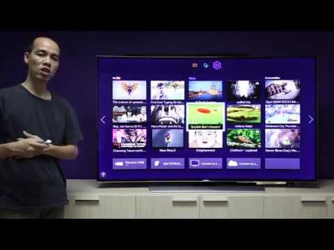 Trên tay TV UltraHD màn hình cong Samsung UHD9000 65