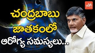 Astrology on Chandrababu Naidu health Problems..