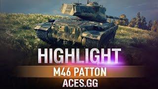 Highlight. M46 Patton