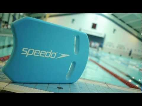 Swim workout using a Kickboard and Pullbuoy