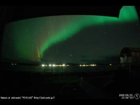 northern lights movie in lapland youtube