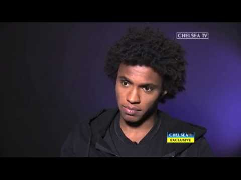 EXCLUSIVE: Willian's first interview in Engli…