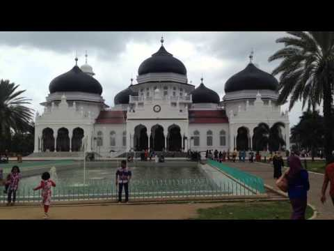 Mosque in Banda Aceh, Indonesia
