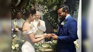 Cricketer Robin Uthappa marries tennis player Shethal Goutham