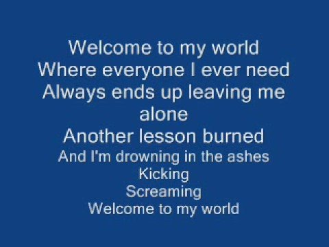 My World - Sick Puppies [(Lyrics)] - YouTube
