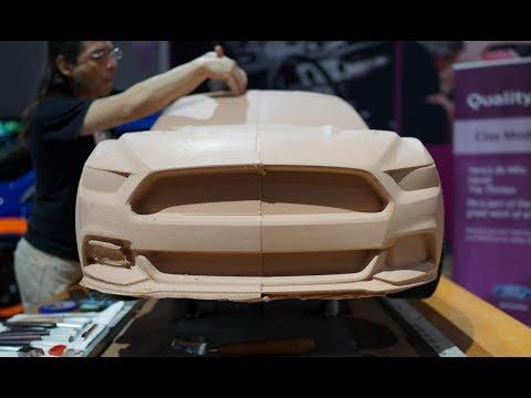 Imprimer une Ford Mustang 2015 en chocolat