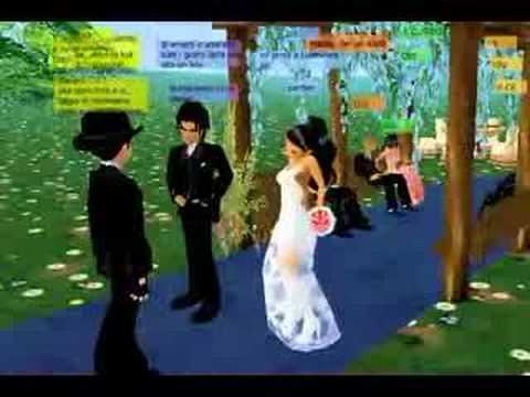 The Marriage of BlueAys & Alexs13 on IMVU,,,,, The record of a wedding in IMVU. BlueAys marry Alexs13 and the reverend JoeMuffa officiated the cerimony. With Siuxxy, Madleyne, Druido73, Puerkos and MarkOn...,,, love it,,