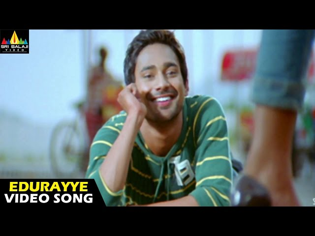 Happy Happy Ga Movie Yeduraiyeh Video Song || Varun Sandesh, Vega, Saranya