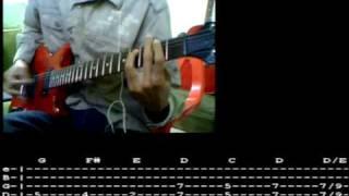 Solo De Jesus La Sangre Guitarra