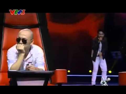 Nguyễn Đình Nhân  Mắt Đen - The Voice Viet 2013 - Tap 2 - Vong Giau Mat