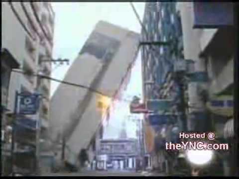 سقوط عمارة من 11 طابق