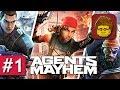 Agents of Mayhem 1 Let s Play der PC Version German Deutsch