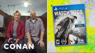 Conan O'Brien Scoops Everyone with World's First Watch_Dogs Review